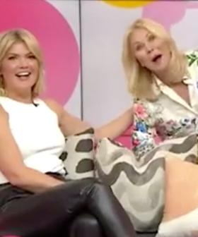 Kerri-Anne Kennerley Gatecrashes 'Studio 10' After Being Axed From Program