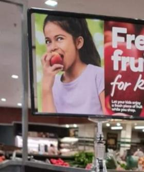Aussie Mum Complains About Woolworths 'Free Fruit For Kids' Over Its Signage