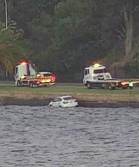 Car Pulled From Swan River Near Kings Park