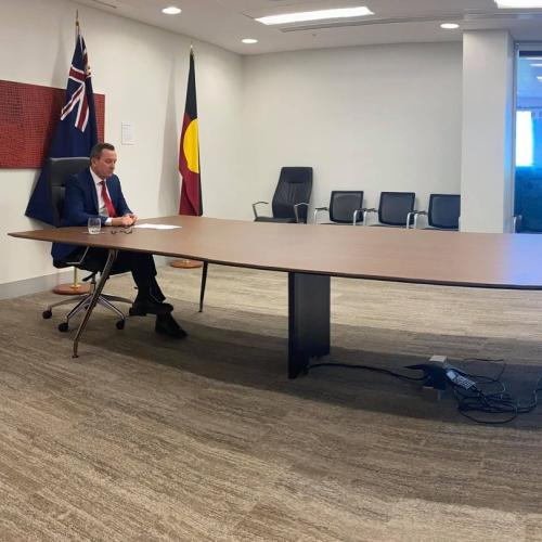 Morrison 'Heartbroken' Over McGowan Zooming-In On National Cabinet Meeting