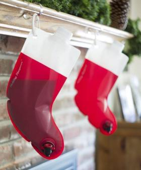 Everyone's Fave Boozy Wine Stockings Are Back In Time For Christmas With The In-laws!