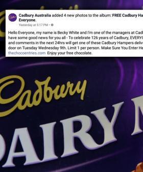 Warning Issued Over 'Free Cadbury Hamper' Scam On Facebook
