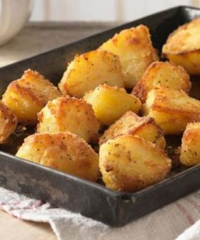 This Christmas Roast Spud Recipe Has Just Two Ingredients... And One Of Them Is Spuds