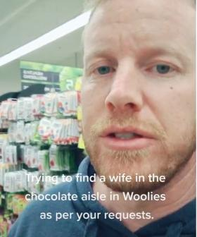 Aussie Man Starts Hanging Out In Supermarket Aisles To 'Find A Wife'