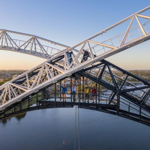 Matagarup Bridge Climb Opens Australia Day (But The Zip Line Isn't Ready Just Yet)
