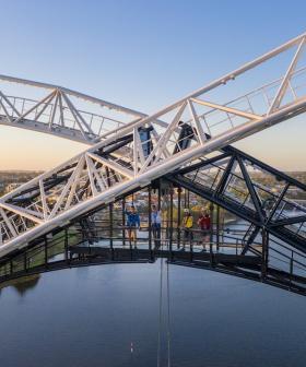 Matagarup Bridge Climb Opens Australia Day (But The Zip Line Isn't Ready Just Yet)