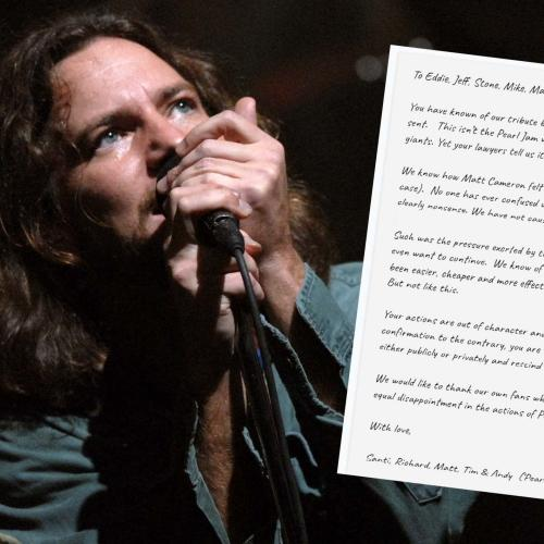 Pearl Jam Send 'Threatening Legal Letters' To Tribute Band, Pearl Jamm