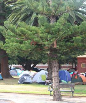 Freo's 'Tent City' Homeless Directed Away From Services, Including Beds, By 'Agitators'