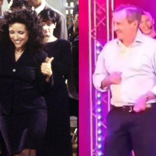 McGowan Compares His Dance Moves To Elaine And, Look, He's Not Wrong