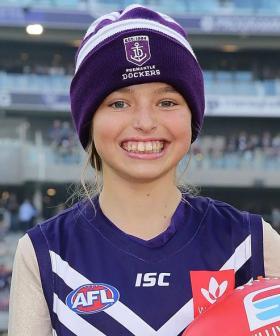 Brave Perth Girl 'Milli' Lucas' Public Funeral Service At Optus Stadium