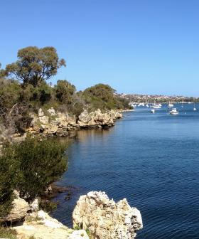 Perth's Blackwall Reach Eerily Empty As Shark Patrol Continues