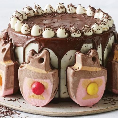 Recipe Kings At 'Taste' Reveal The Bubble 'O' Bill Ice Cream Cake!
