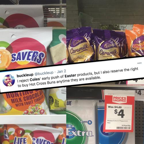 Easter Eggs Are Already On Supermarket Shelves... Umm, Is It Too Early?