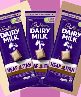 Cadbury's Released Neapolitan Choccie Blocks Which Is Exactly What 2021 Ordered