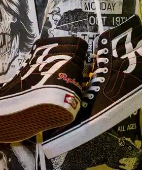 Foo Fighters To Release Custom Vans To Celebrate 25th Anniversary