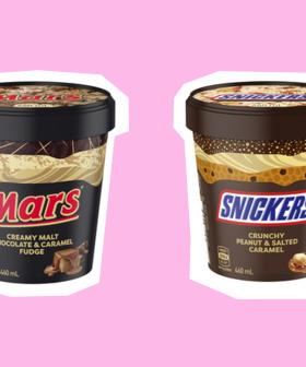 You Can Now Get An ENTIRE Tub Of Mars Or Snickers Ice Cream At Coles