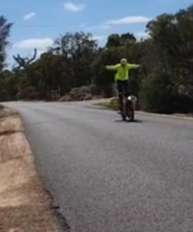 Australia Post Responds To Viral Vid Of Postie's Wheelies, Jumps