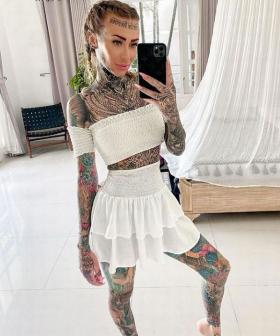 What 'Britain's Most Tattooed Woman' Looks Like As A Cleanskin