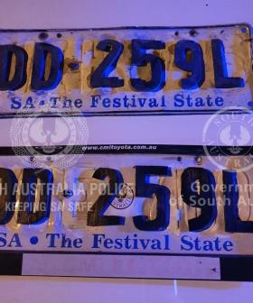 Homemade Craftmanship Levels Up As Aussie Driver Caught With Wooden Number Plates