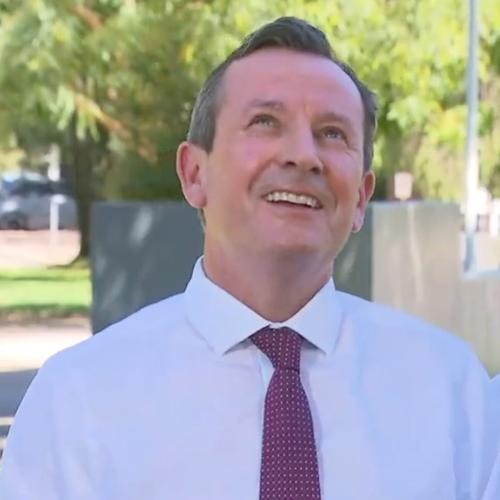 'His Name Is Clive': McGowan's Presser On Gun Laws Crashed By Feisty Crow