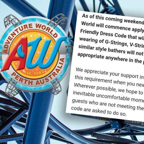 Adventure World's G-Banger Dress Code Is Doing The Rounds Again