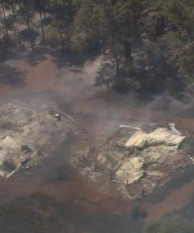 Homes Destroyed By Wooroloo Bushfire Now At 81, Strong Winds Fan Flames