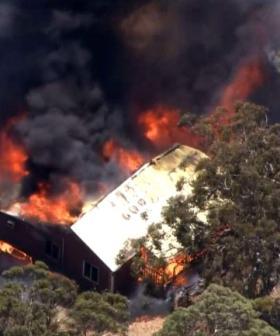 Perth Hills Bushfire Destroys Three Homes, Threatens More