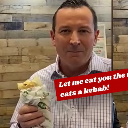 You Could Literally Hear Mark McGowan Blush Over THAT Valentine's Day Meme
