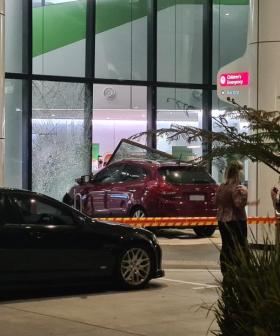 Child Seriously Injured After Car Ploughs Into Perth Children's Hospital