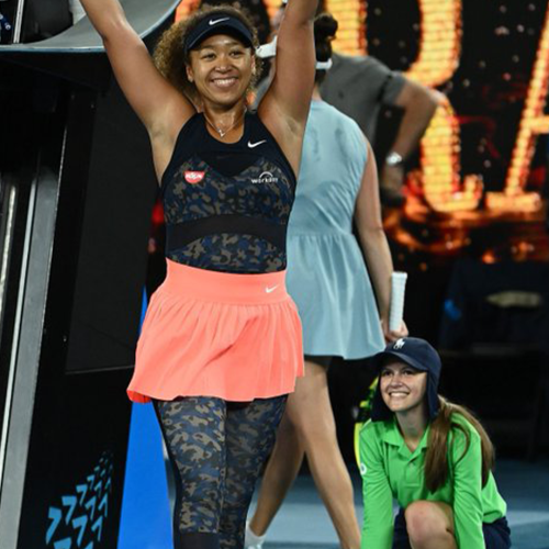 Australian Open Ball Girl Goes Viral After Naomi Osaka Spots Her In Celebratory Photo