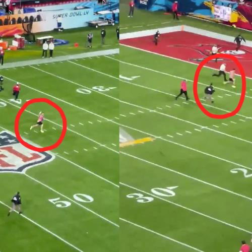 Super Bowl Streaker Bet On Himself... And Took Home $374,000