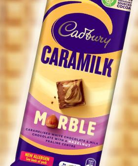Cadbury's Newest Caramilk/Marble Collab Is The Crossover We All Need