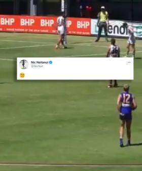 Nic Naitanui Tweets The Emoji Everyone Was Thinking Over THAT 50m Penalty