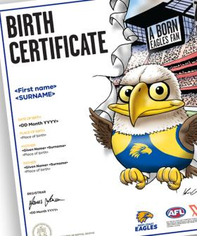 These Amazing Birth Certificates Actually Exist For AFL-Obsessed Parents
