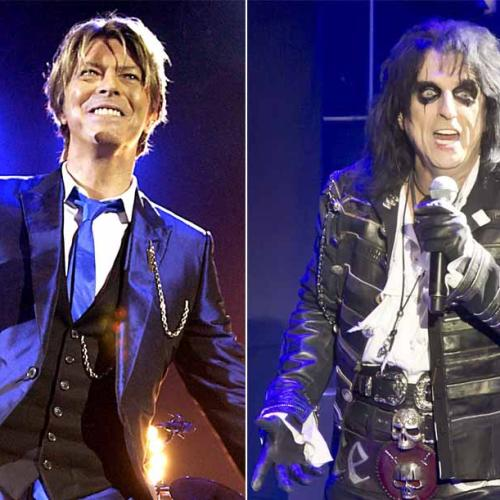 David Bowie Once Sent His Band To An Alice Cooper Show As Homework