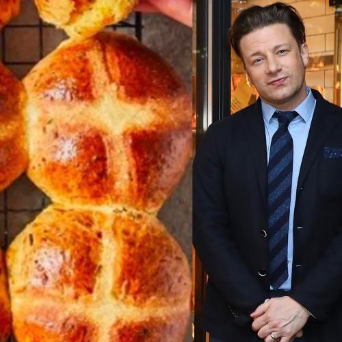 Jamie Oliver Releases New Hot Cross Bun Recipe & People Aren't Into It
