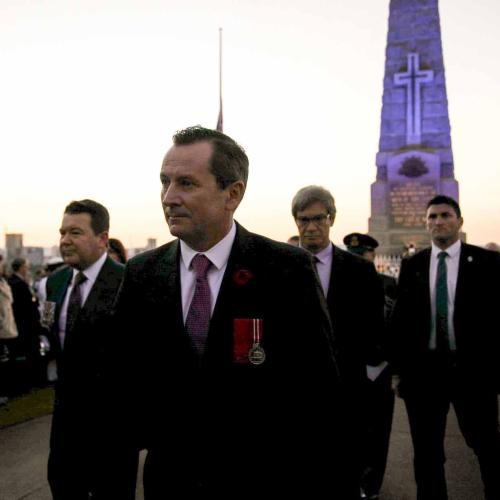 Mark McGowan Doesn't Want To Lose This Brand-New ANZAC Day Tradition