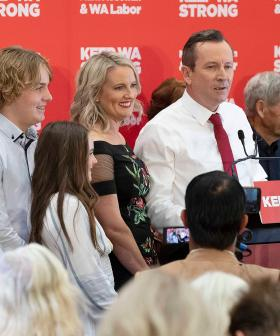 The Moment Before McGowan's Victory Speech Which Was 'A Bit Confronting'
