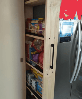 Bunnings Shopper Applauded After Revealing Her DIY Kitchen Hack