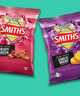 Smith's Are Bringing Back Garlic Bread, Crispy Bacon & Sausage Sizzle Chips