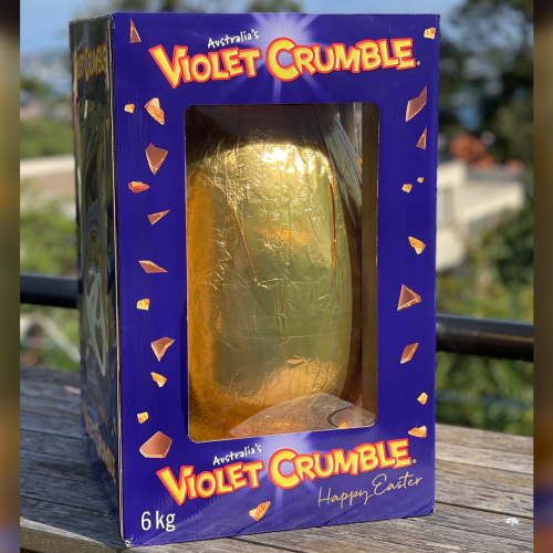 A Violet Crumble Easter Egg That Weighs 6 KILOS Now Exists
