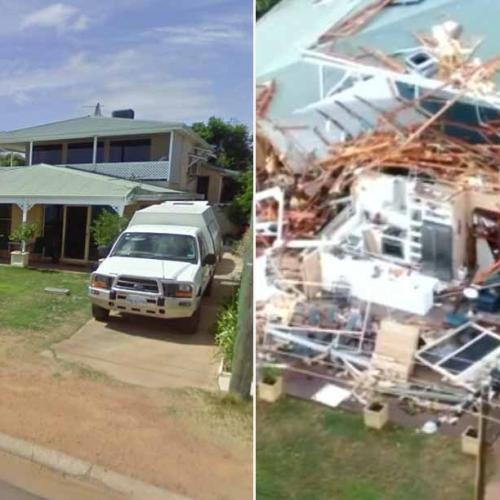 'Wind Gusts Strongest in 50 Years': Seroja Brings Carnage To WA Tourist Town