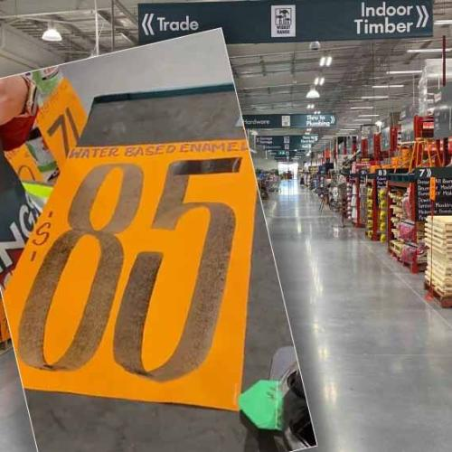 Bunnings Staff Let Us In On THOSE Orange Signs That All Look The Same