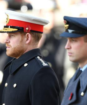 How Princes William & Harry Will Be Separated At Funeral