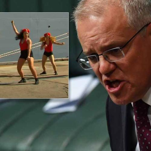 PM Slams ABC For 'Misleading Editing' Of Navy Event Dancers