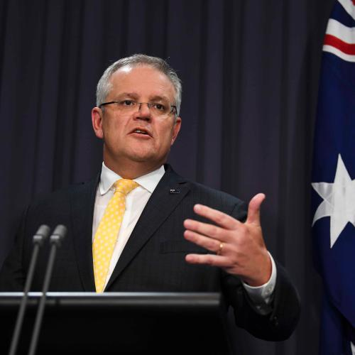 Morrison Looks To Firm Up Support In WA, Makes Huge GST Promise