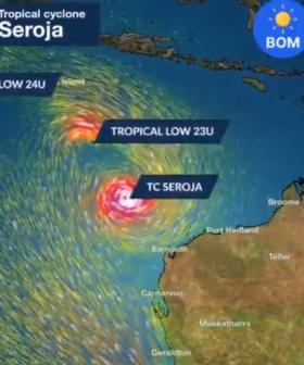 Holidaymakers Warned As TWO Tropical Cyclones Brew Offshore
