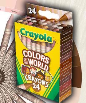 Crayola Introduces New 'Racially Inclusive' Crayon Colours