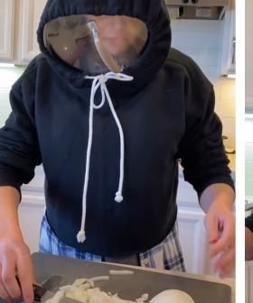 This Woman's Hack For Chopping Onions Is Going Viral And It's Hilarious