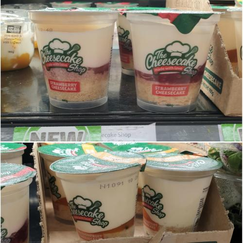 STOP EVERYTHING: We Just Spotted Cheesecake Shop Cups At Coles!